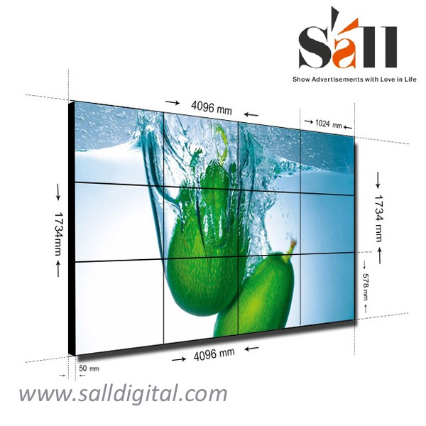 Sall factory supply 46 Inch super slim led video wall panels SL-VW460