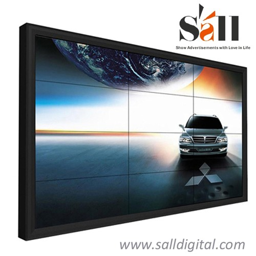 46 Inch super narrow bezel 3X3 lcd video wall price SL-VW460