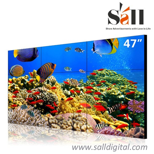 47 Inch ultra narrow bezel 3x3 xxx video tv video wall SL-VW470
