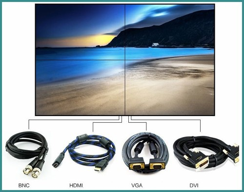 Cheap video wall LCD video wall system supplier (SL-VW470)