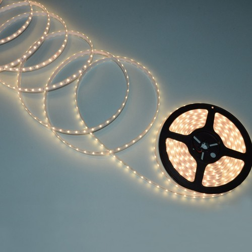 8MM SMD 2835 60 leds/m Strip LED Light Flexible Double Side 24V 12V 4.8W IP20 IP67